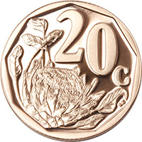 SA Mint - Circulation coins - 20c