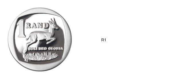 SA Mint Circulation Coins - R1
