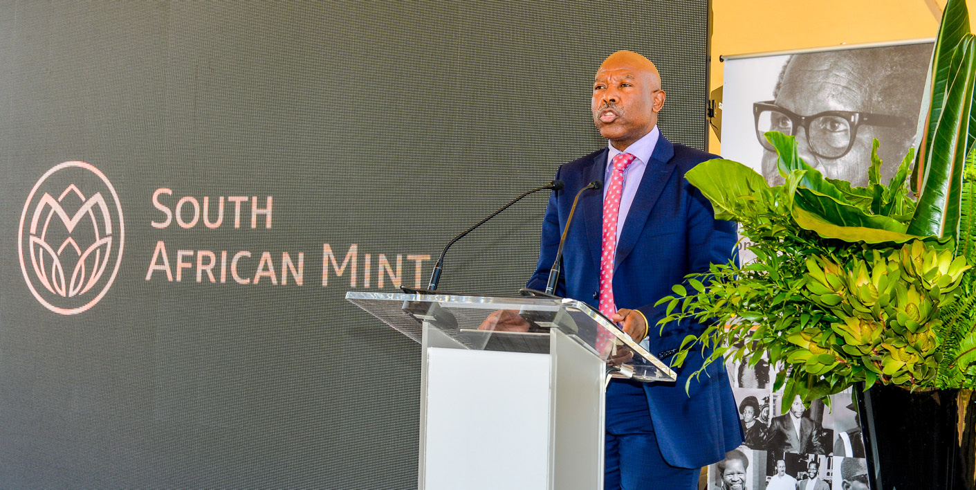 SA Mint - New OR Tambo Centenary Coins